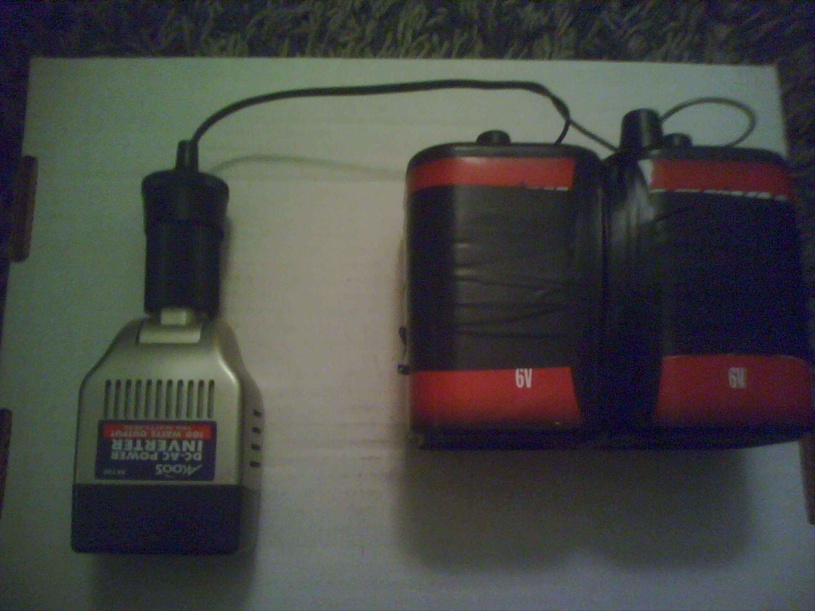 Portable Battery Powered AC/DC Power Source