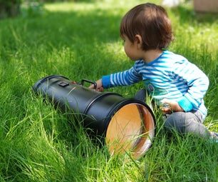 Huge Lens Flashlight Experiment XHP70