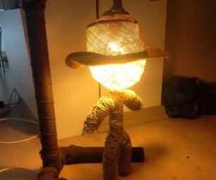 Hangman Lamp