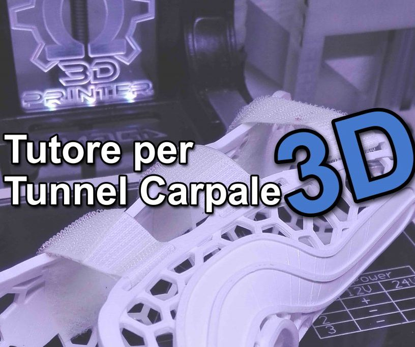 3D Printed Tunnel Carpal Tutor