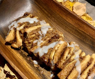 Pumpkin Cinnamon Pull-Apart Bread Recipe
