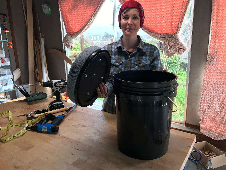 The Amazing Bucket Stool!