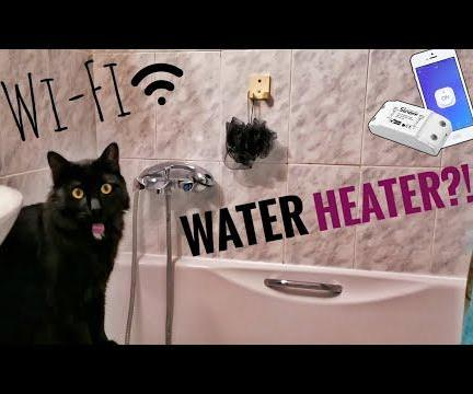 Wi-Fi Water Heater: Sonoff Basic IoT
