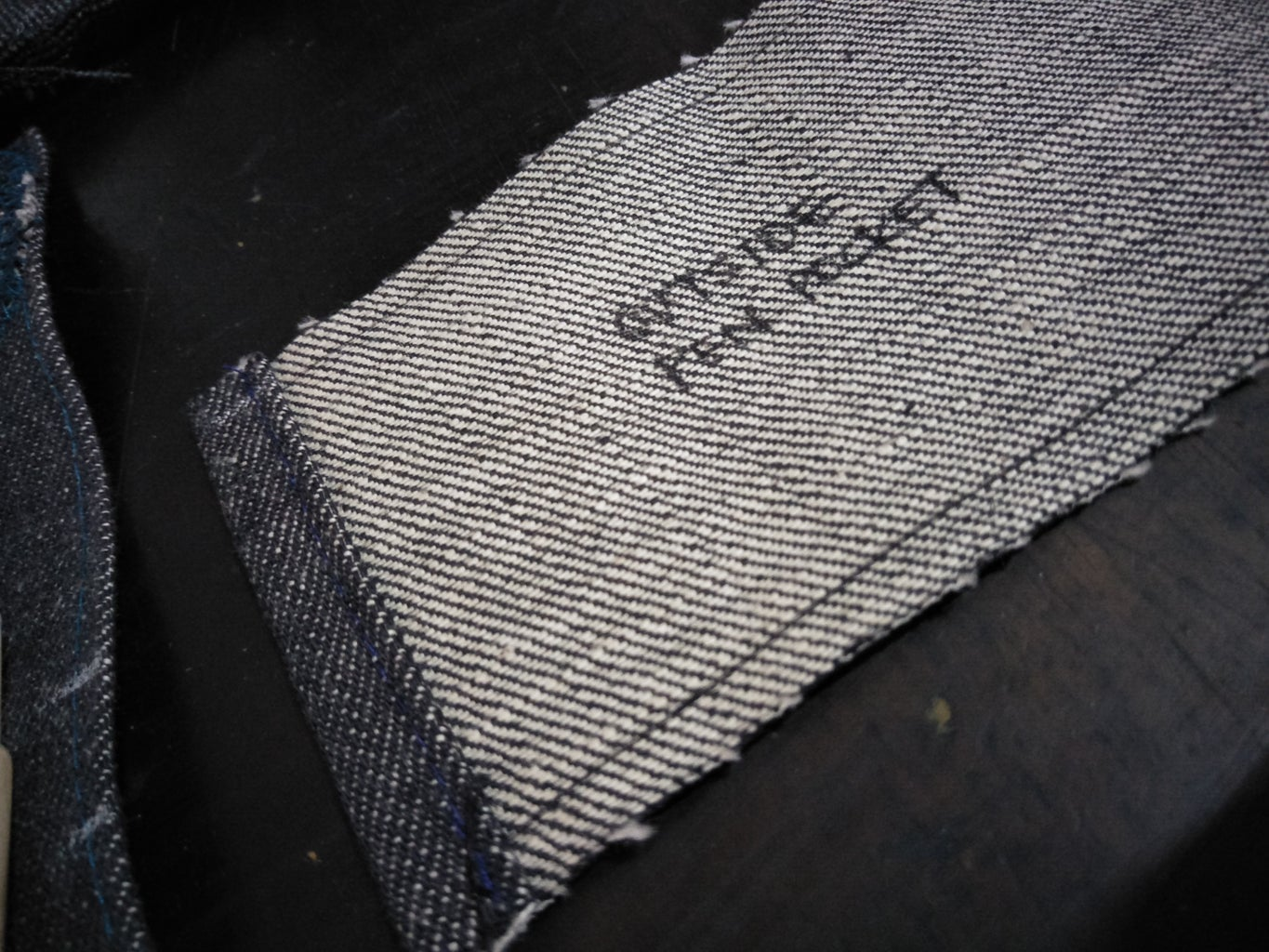 Erect and Sew the Tool Pockets