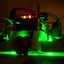 The Glowing Green Robot