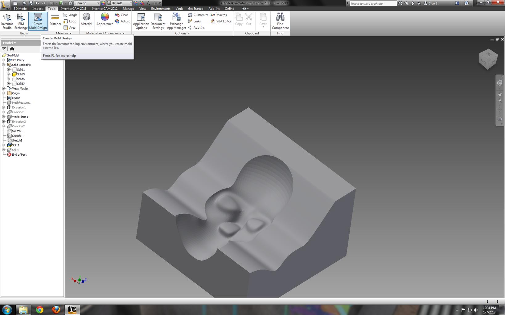 Design the Mold