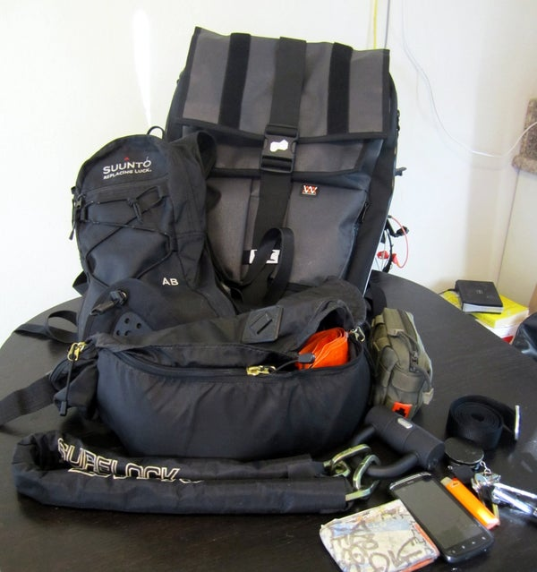 00 Life Support System - a 3 Part Modular Survival/Travel Kit