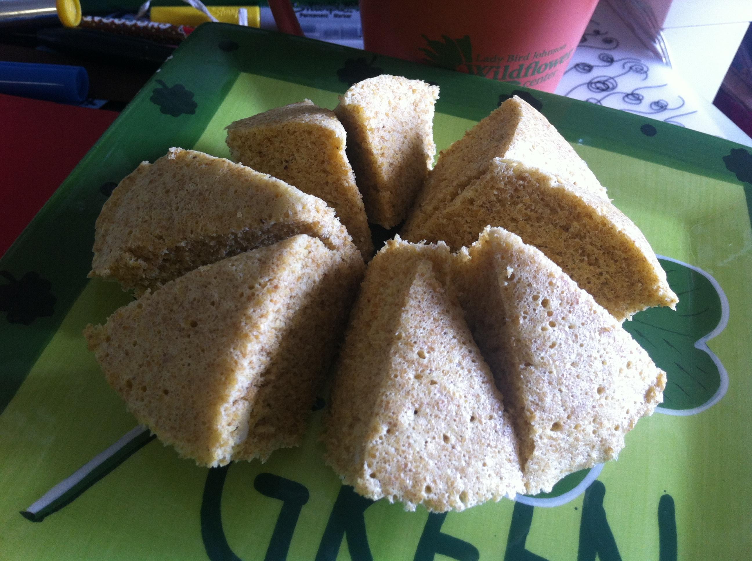 Gluten-free, low carb quick dessert cake