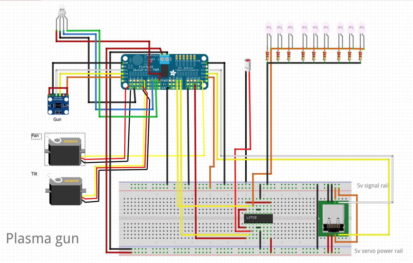 Electronics and Schematics