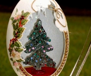 Santa Egg - Faberge' WannaBe