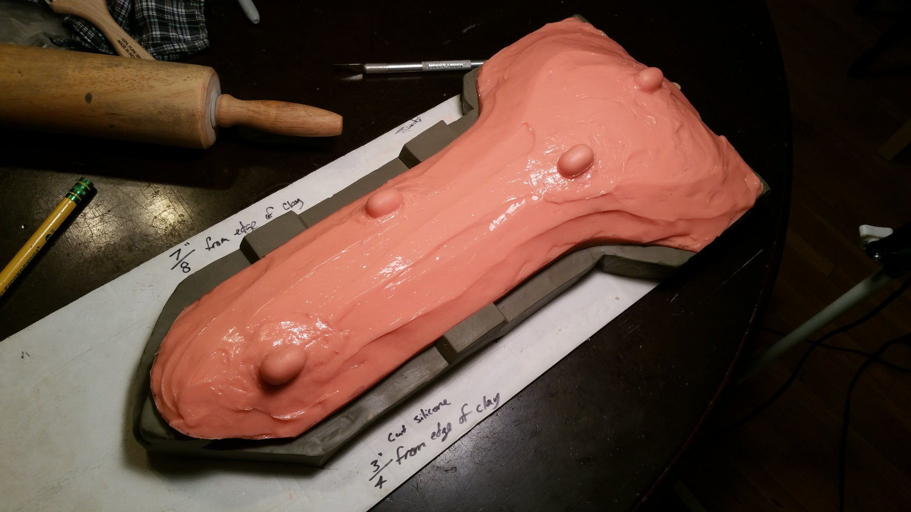 Dagger Body Mold & Mold Jacket
