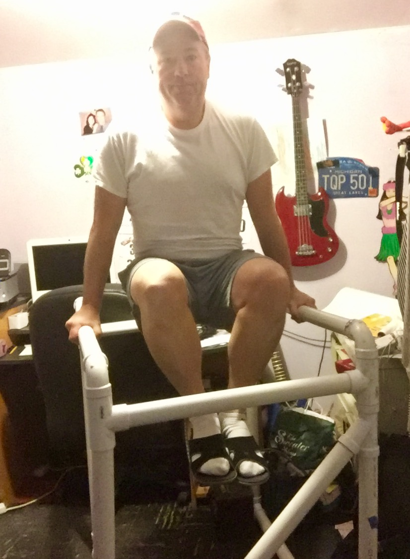 Home Built Fitness:  Constructing Your Own Dip Station