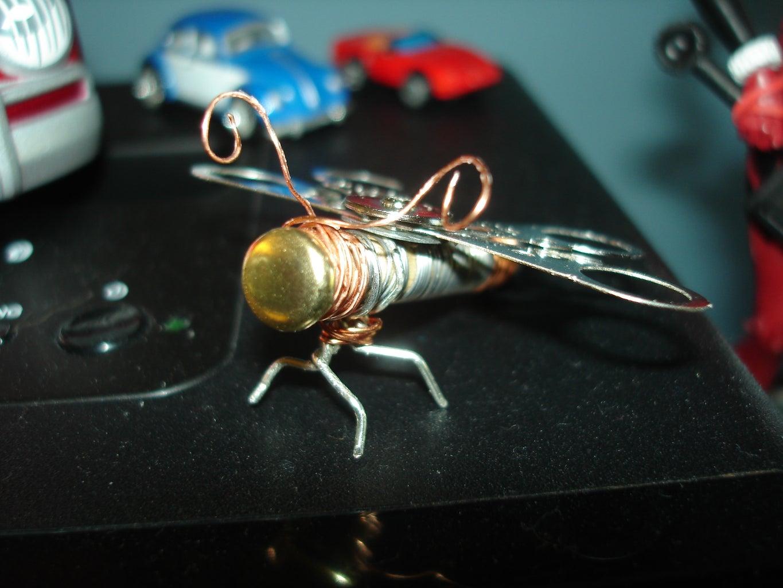 Steam Punk Dragon Fly