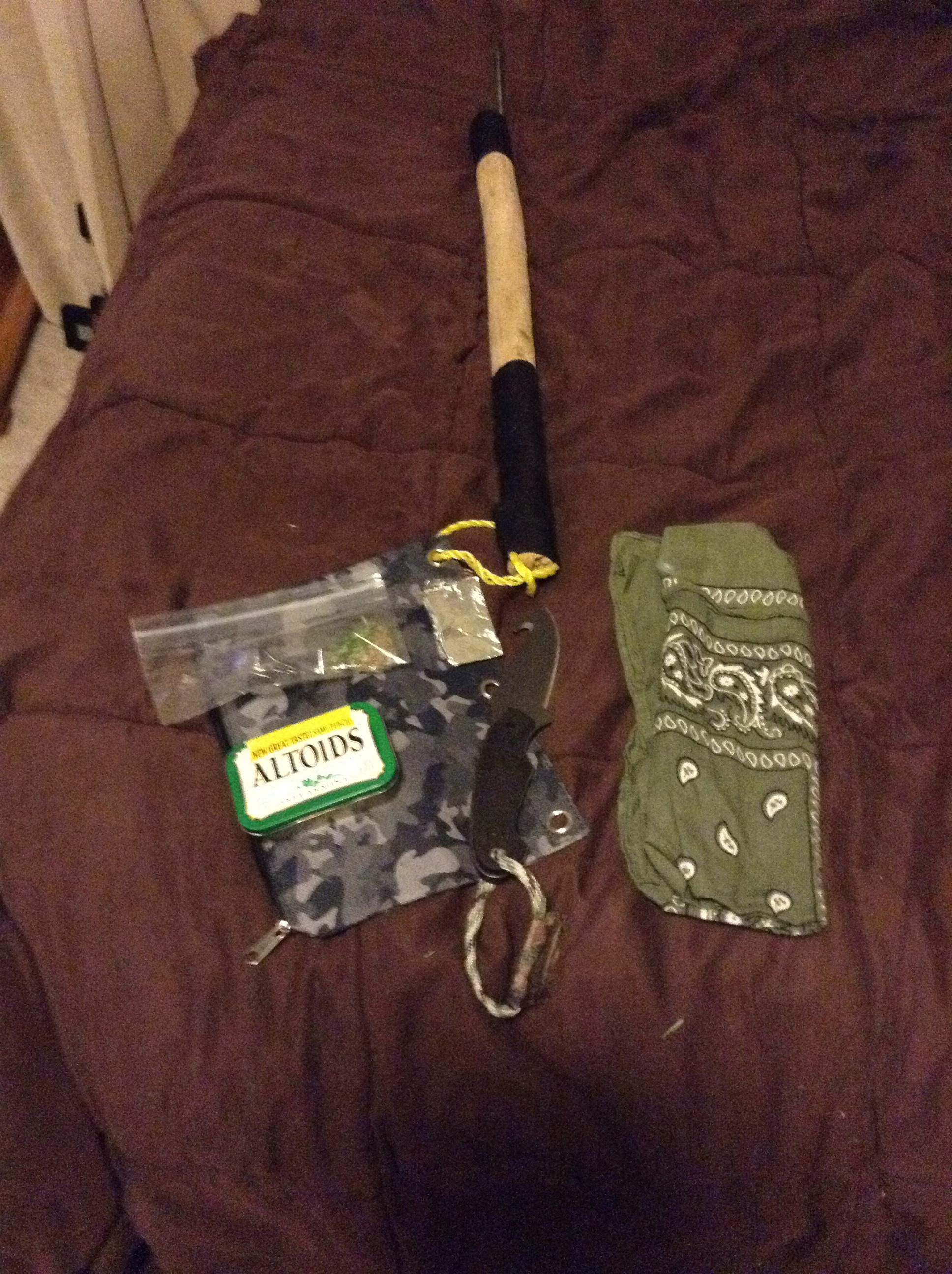Survival Spear And Gear