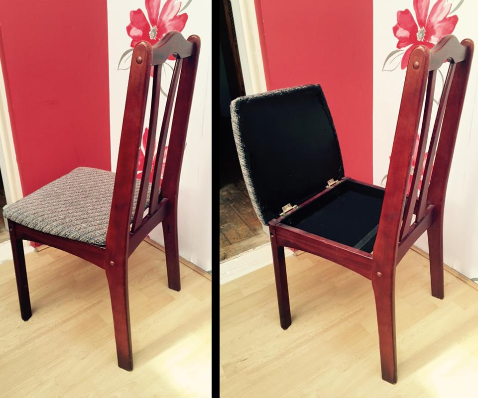 Hidden Chair Compartment
