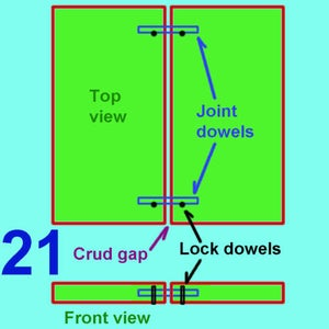Making a Dowel Joint