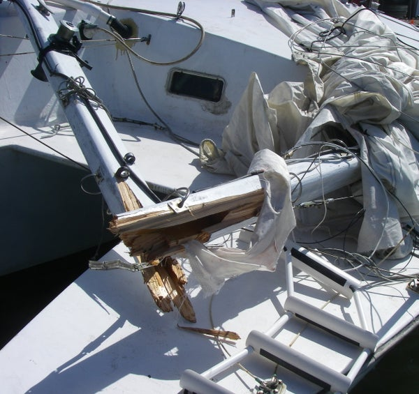Free Yacht Chapter 11: Dismasted!