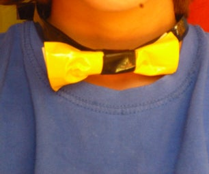How to Make an Adjustable Bow Tie