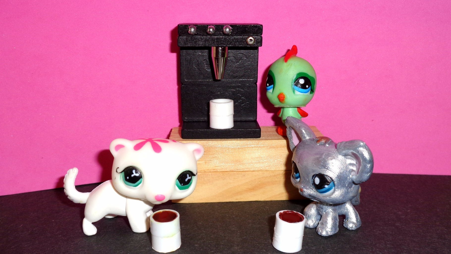 How to Make a Doll Coffee Maker