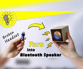 DIY Bluetooth Speaker (how-to)
