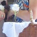 Nadelkissen Ente für Hochzeit / Pincushion duck for a wedding