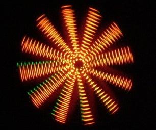 Make a Wind Powered LED Light Show