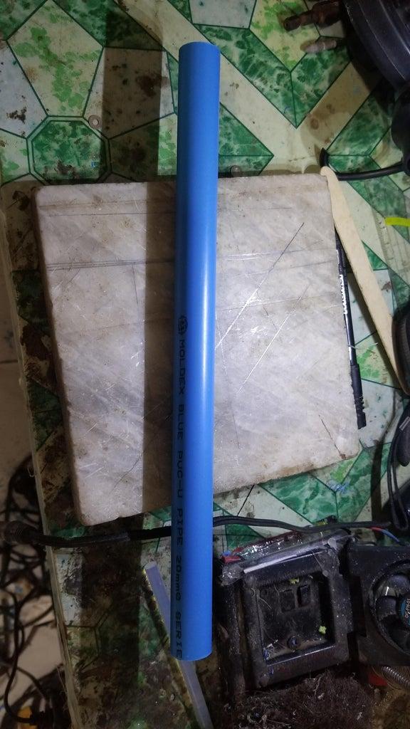 Preparing the PVC Tubing Frame