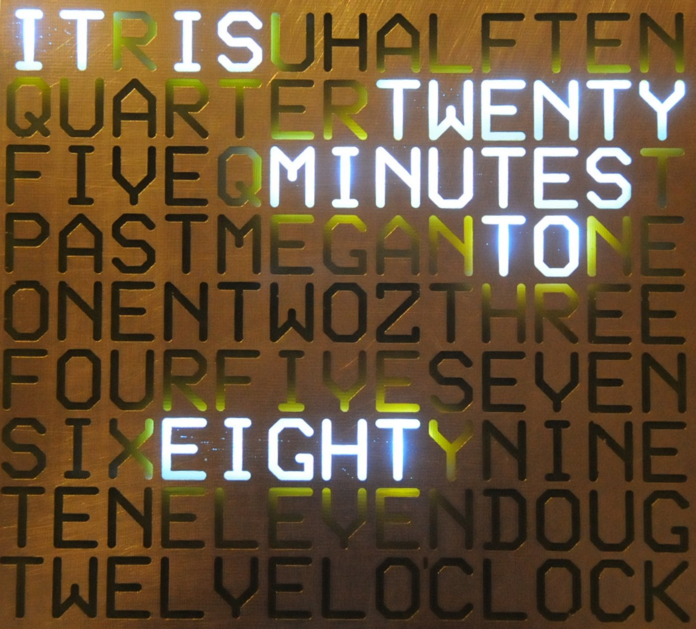 A Word Clock