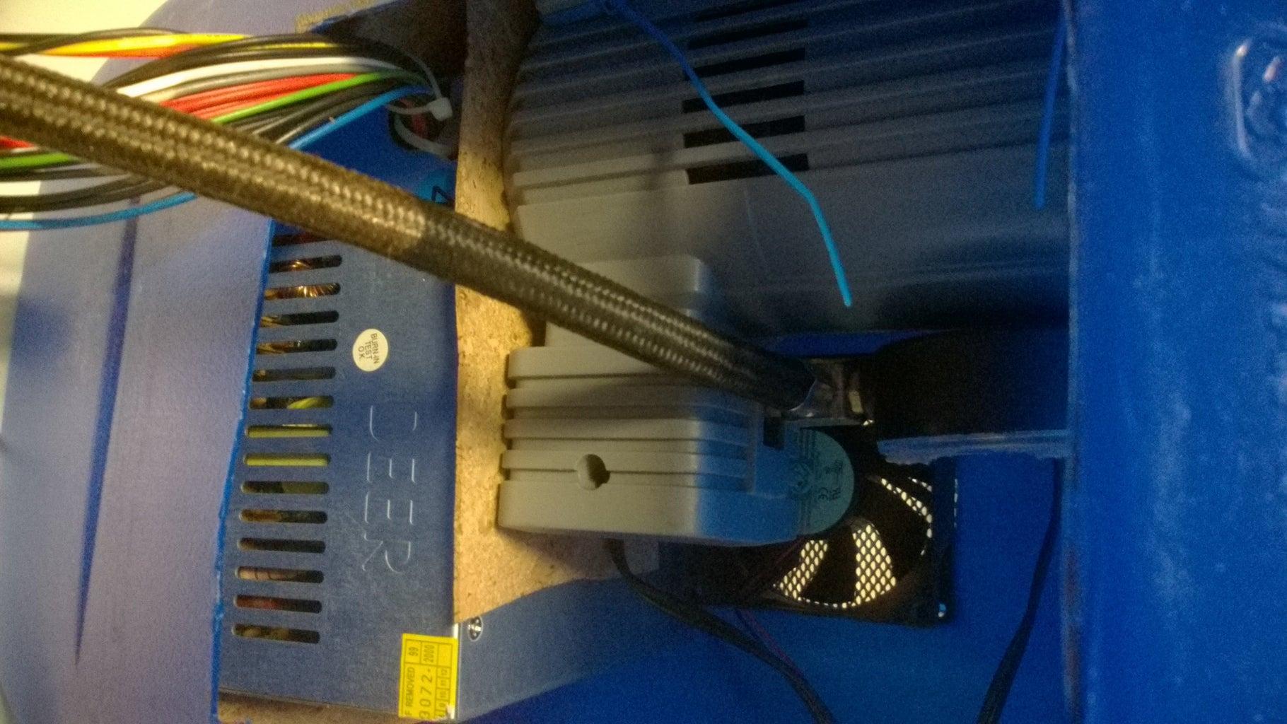 Fitting the Mini Compressor.