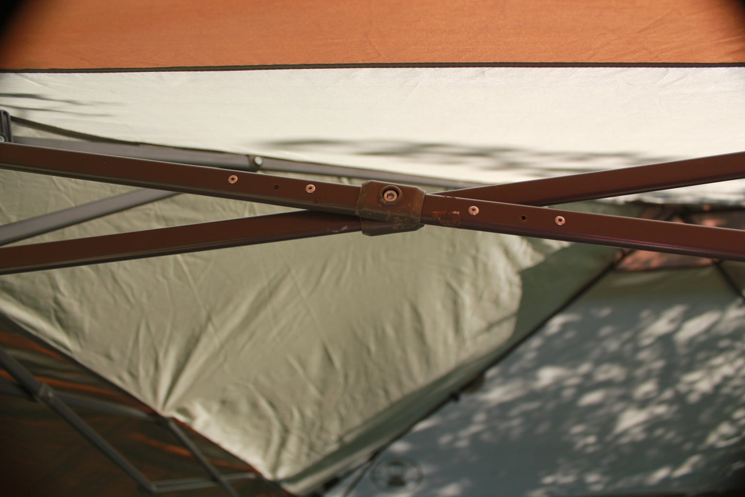 Repairing a Broken Instant Canopy