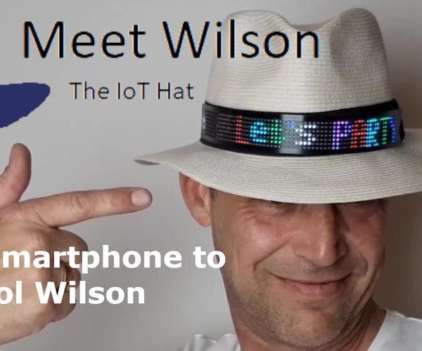 Wilson - the IoT Hat