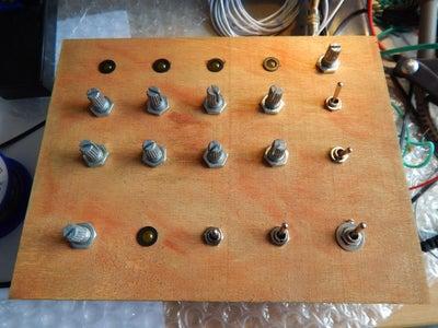 Mounting Potentiometer Knobs