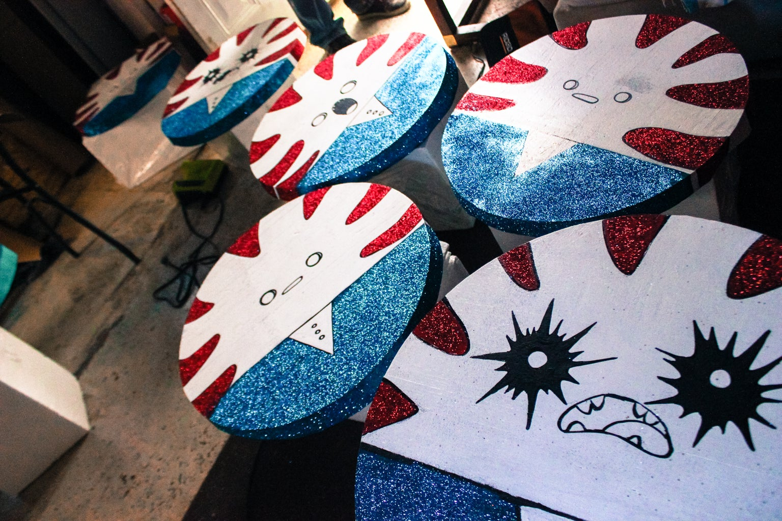 Draw, Paint & Glitter the Characters