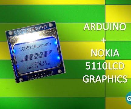 Graphics on Nokia 5110 Lcd Using Arduino