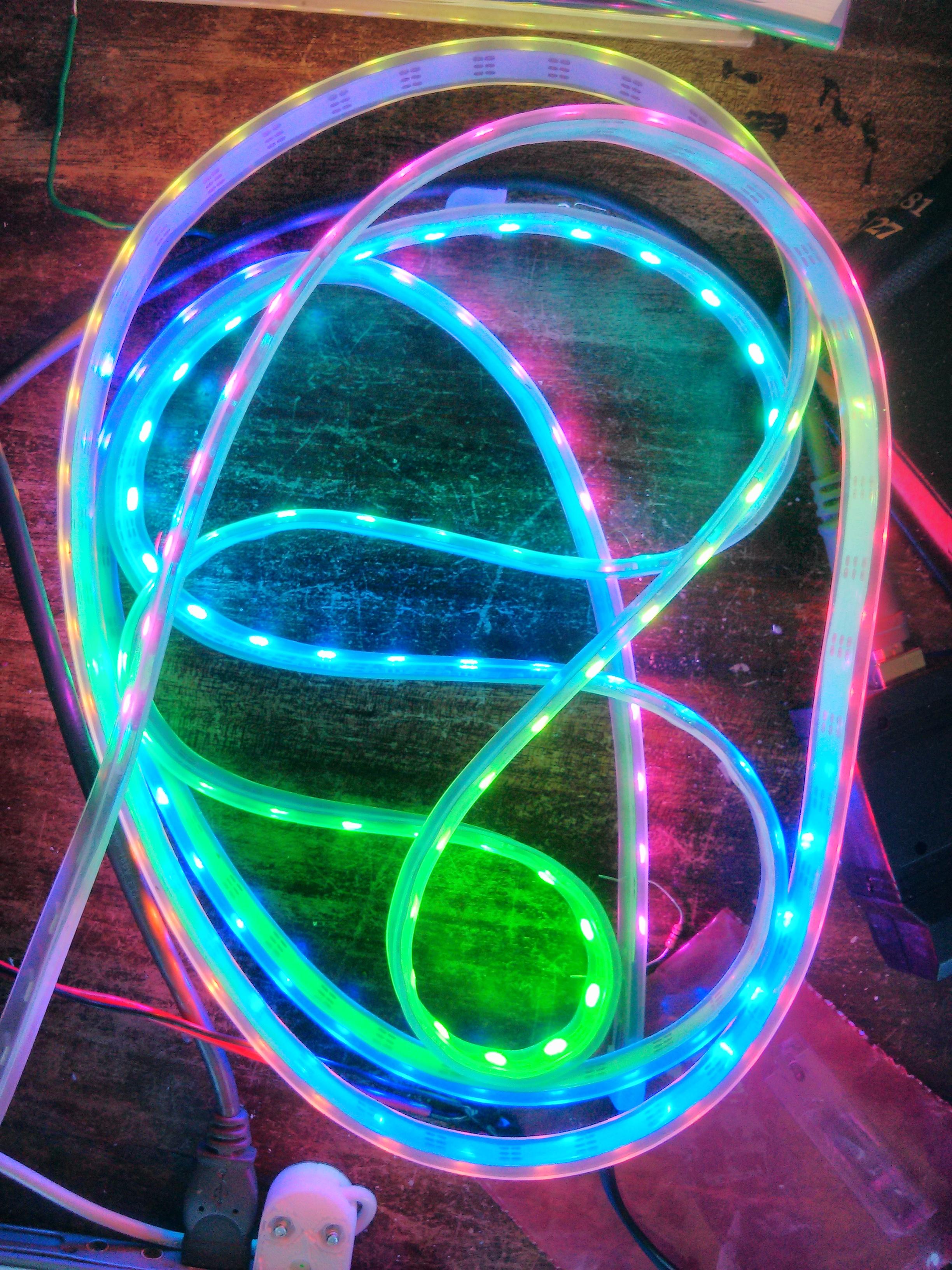 Use a $1 ATTiny to drive addressable RGB LEDs