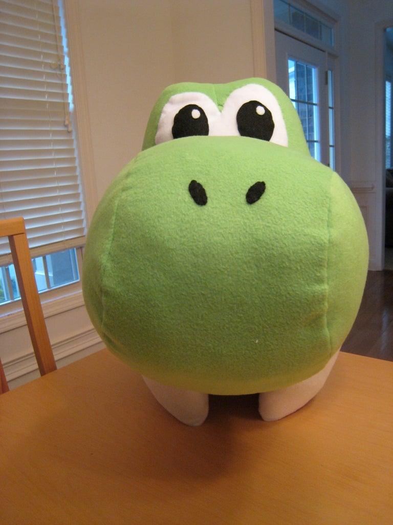 Yoshi Head (Eyes, Cheeks, and Nose)