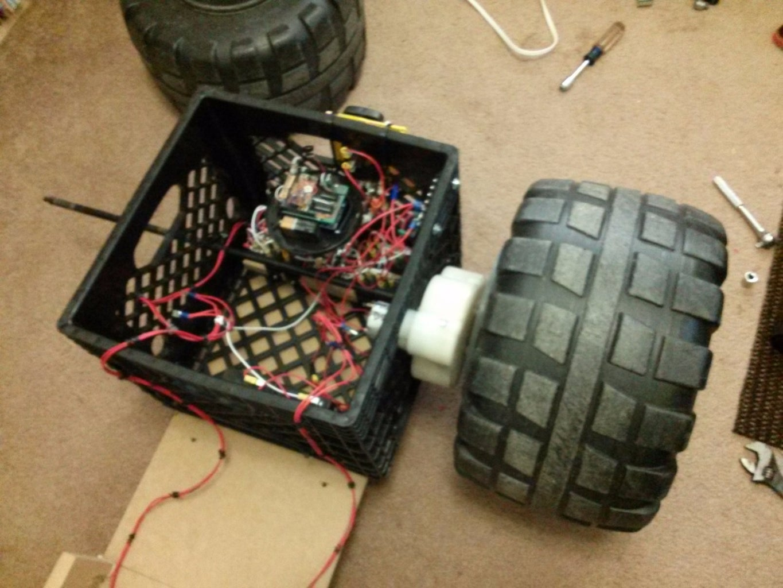 Installing Back Motors