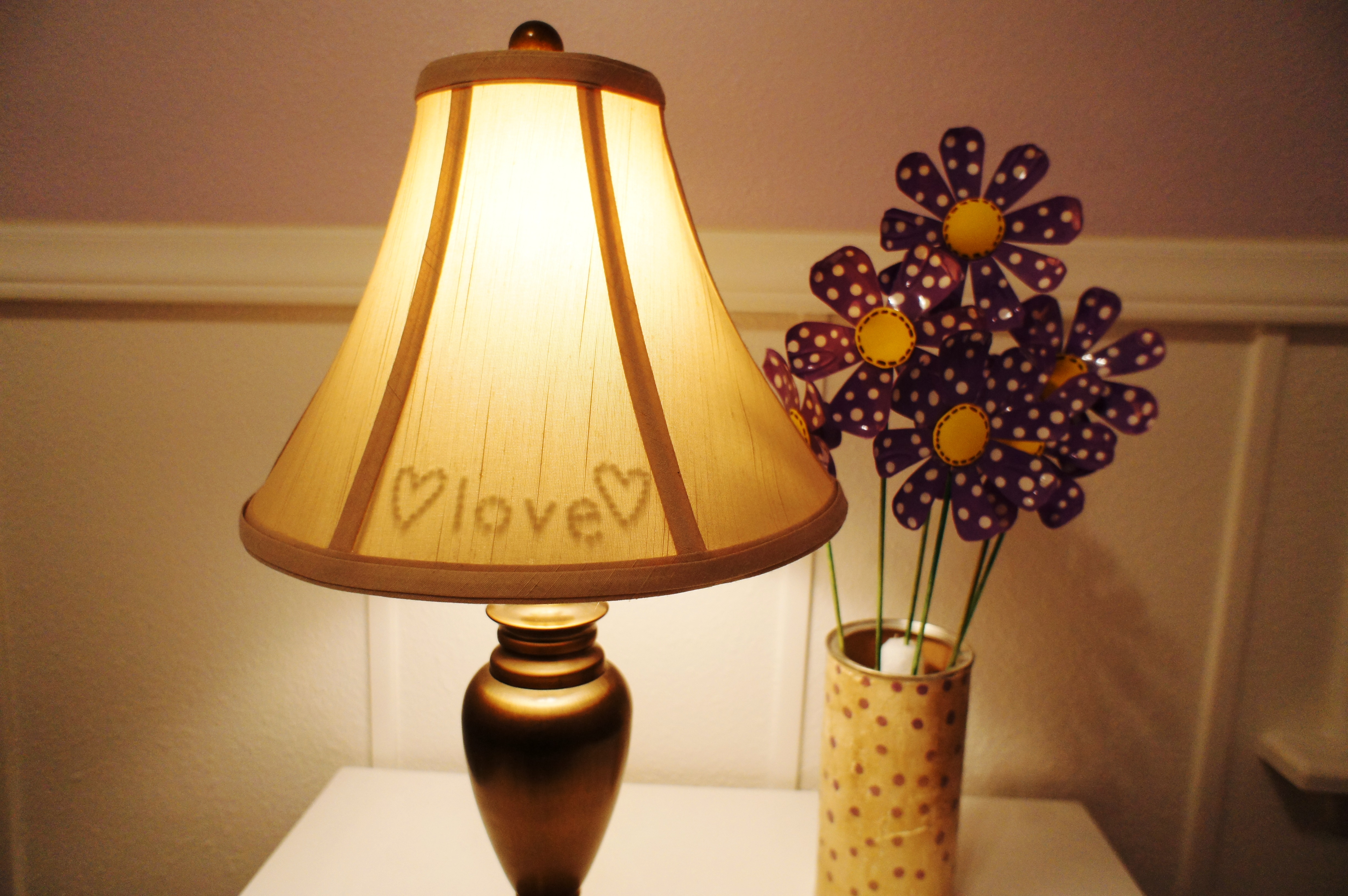 Hidden Message Lamp