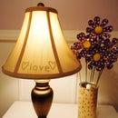 Hidden Message Lamp
