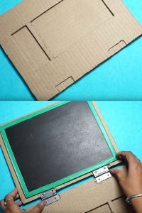 Let's Make Opening and Closing the Mini Laptop Book!