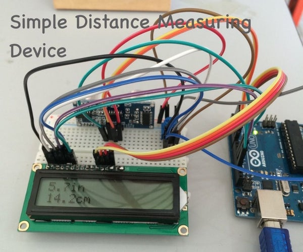 Simple Distance Measuring Device