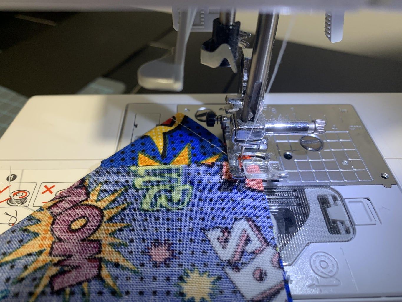 Sewing the Bandana:  Part 2