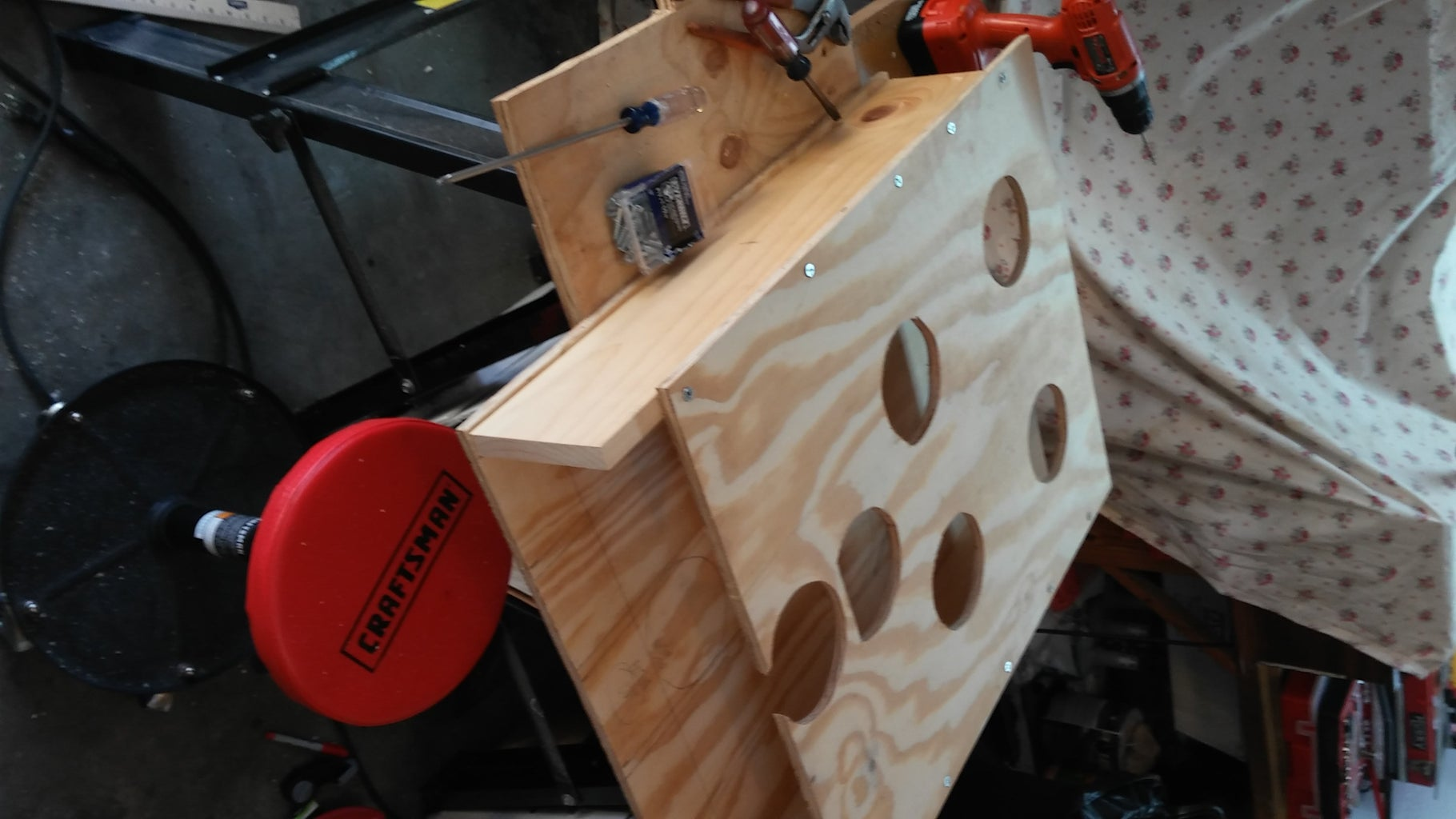 Making the Target Board With Holes