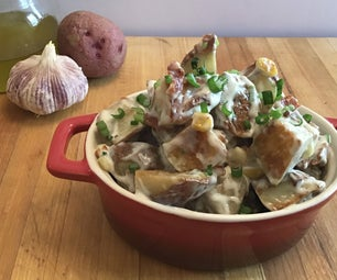 """""""Earls"""" Copy Cat Warm Potato Salad."""