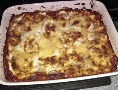 Tuna Man-sagna! (aka: Super Easy Tuna Lasagna)