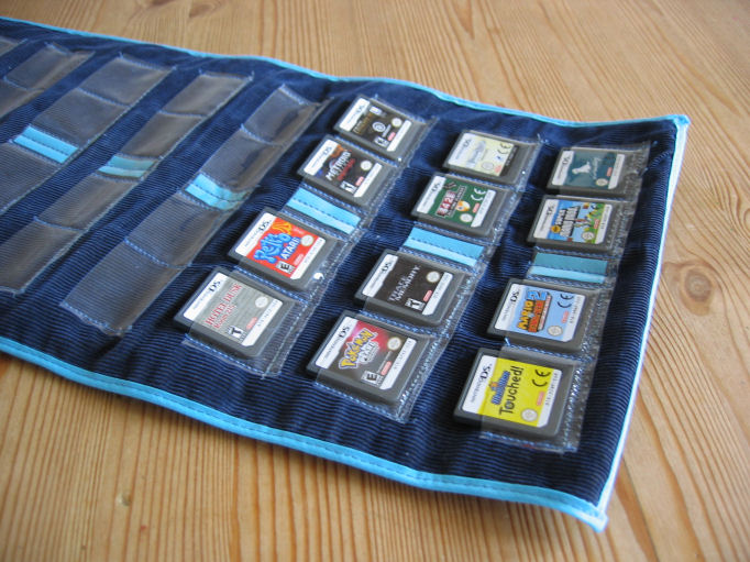 How to Make a Case for Your DS Lite Games