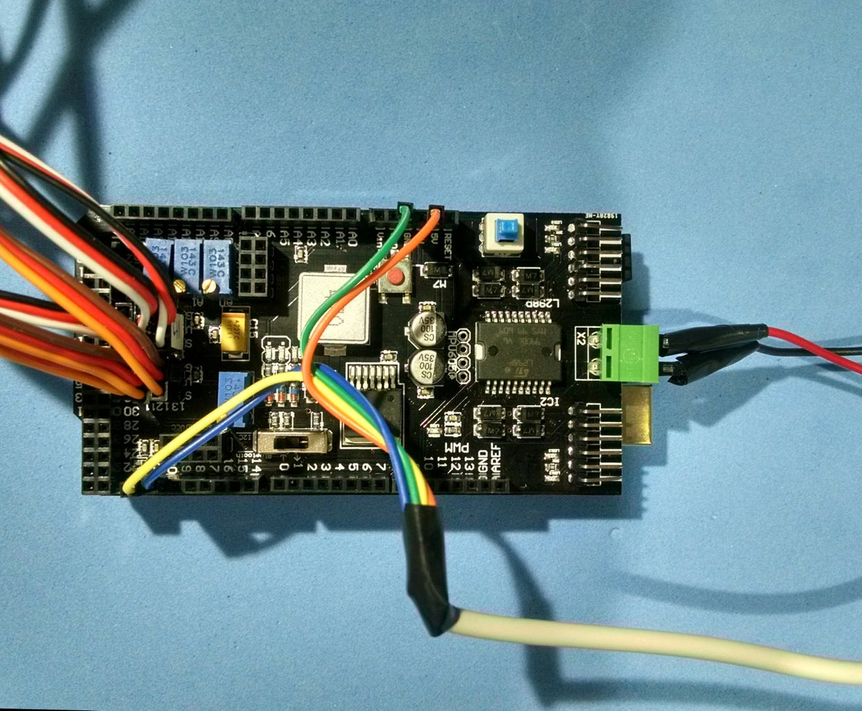 Wiring Up the Circuits