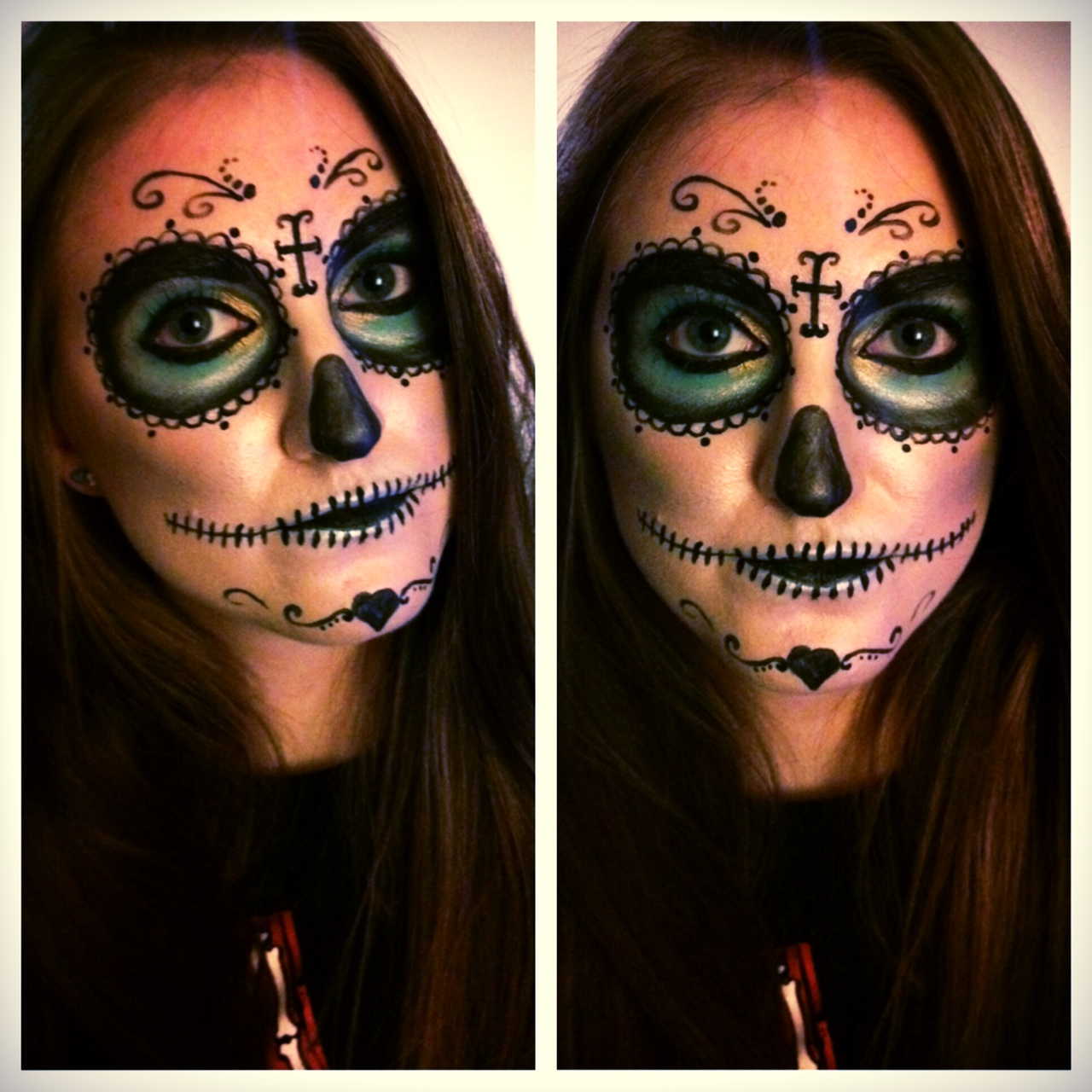 Sugar Skull Makeup 5 Steps With Pictures Instructables