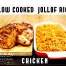 SLOW COOKED JOLLOF RICE AND CHICKEN
