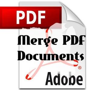 How to Merge PDF Documents
